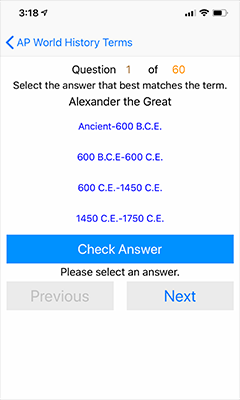 EKM Studios - Mobile Apps - AP World History Terms